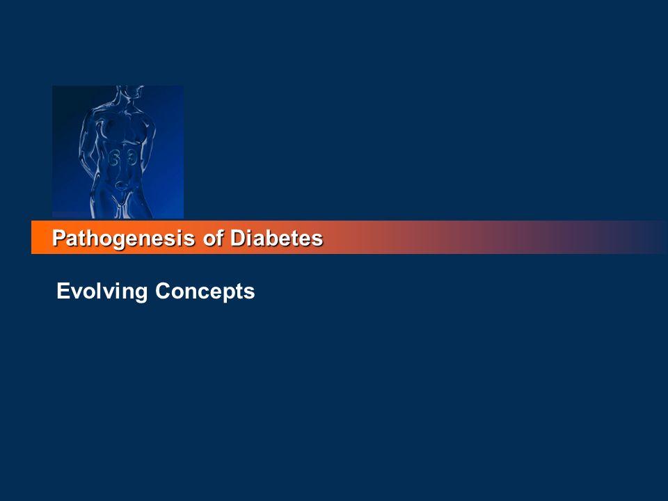 Pathogenesis of Diabetes Evolving Concepts