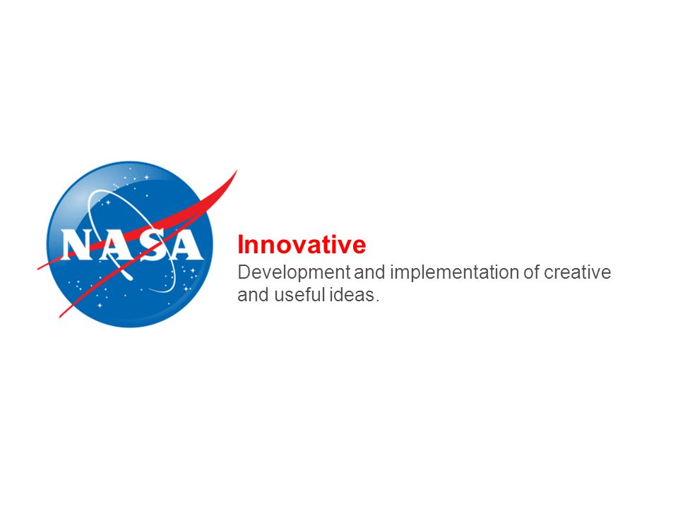 Innovative Development and implementation of creative and useful ideas.
