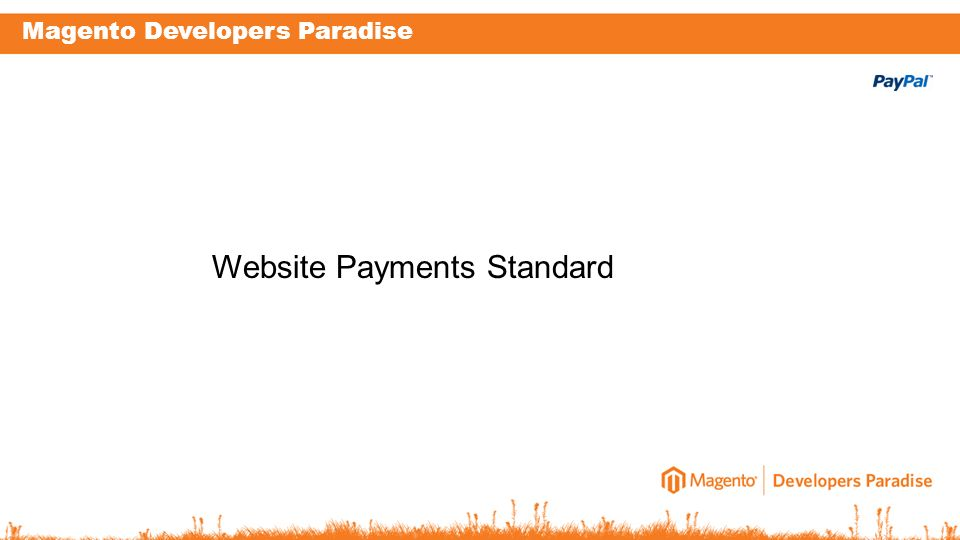 Magento Developers Paradise Website Payments Standard