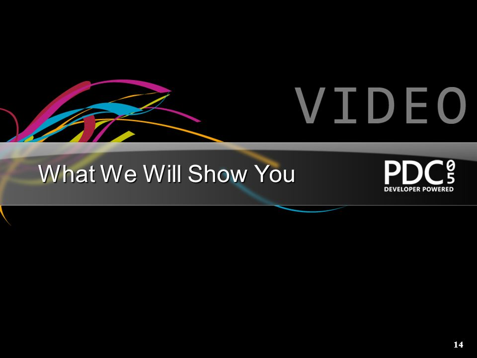 14 What We Will Show You