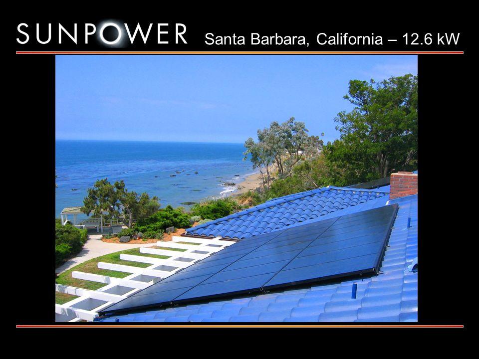Santa Barbara, California – 12.6 kW