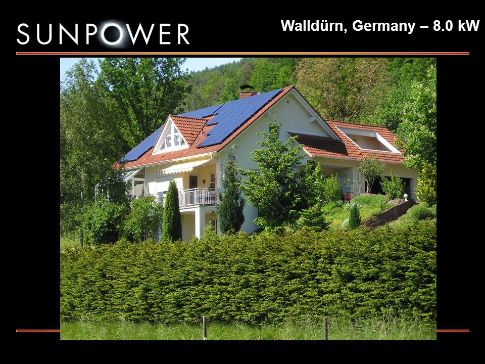 Walldürn, Germany – 8.0 kW