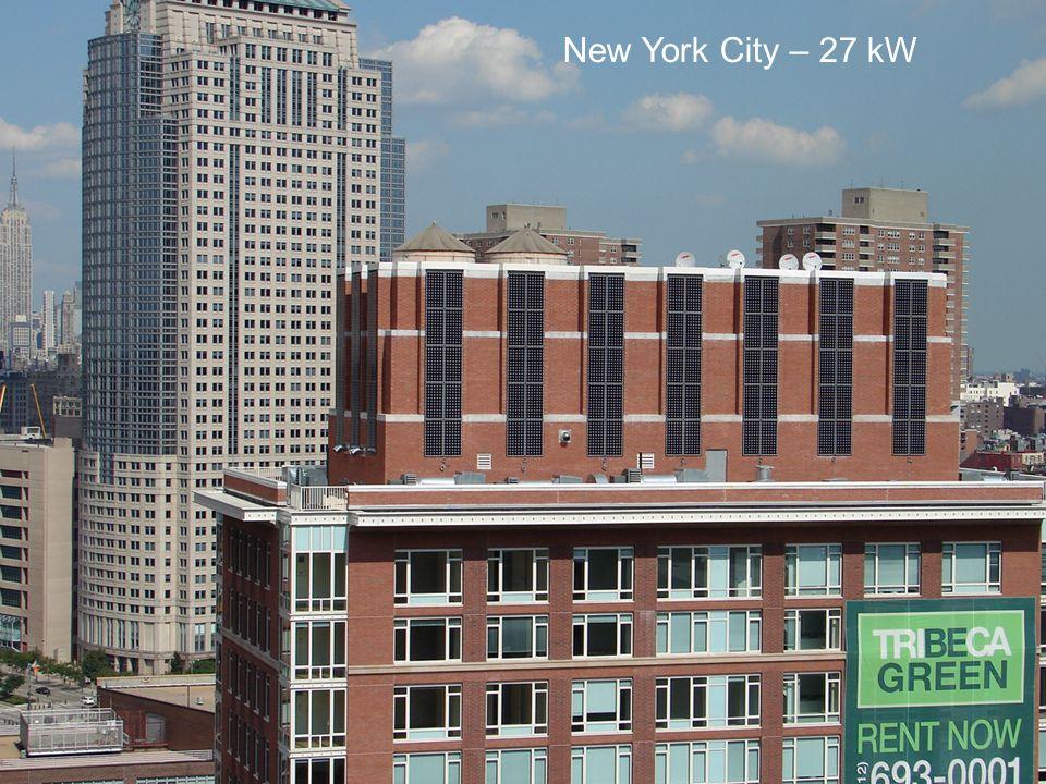 New York City – 27 kW