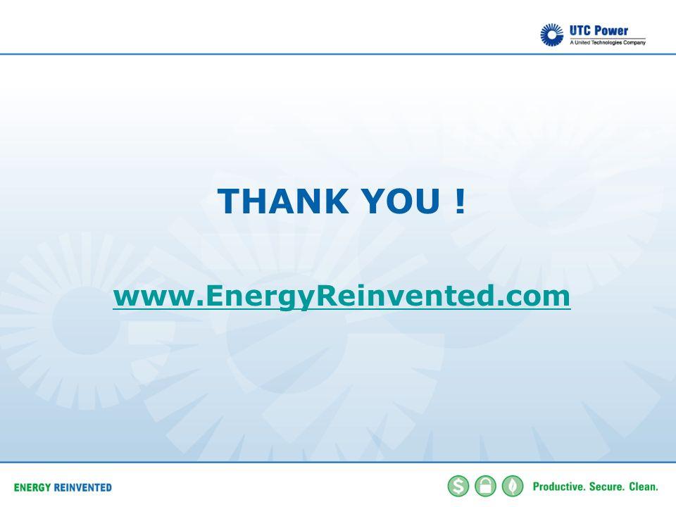 THANK YOU ! www.EnergyReinvented.com