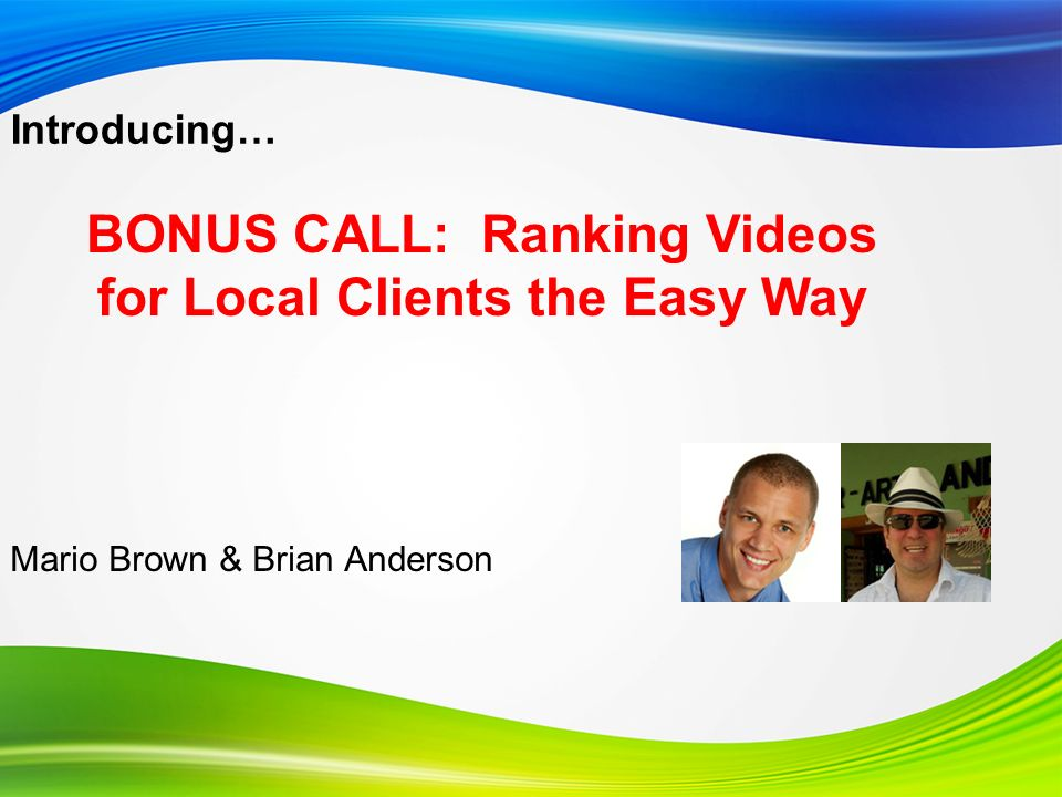 Video Title Info and Settings Section: Video Title Two good best practices to consider… Always include the word video at the end of the title Include your company name in the title