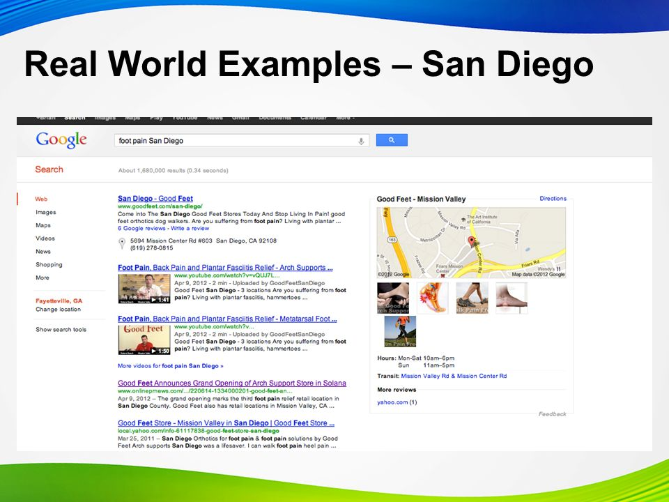 Real World Examples – San Diego