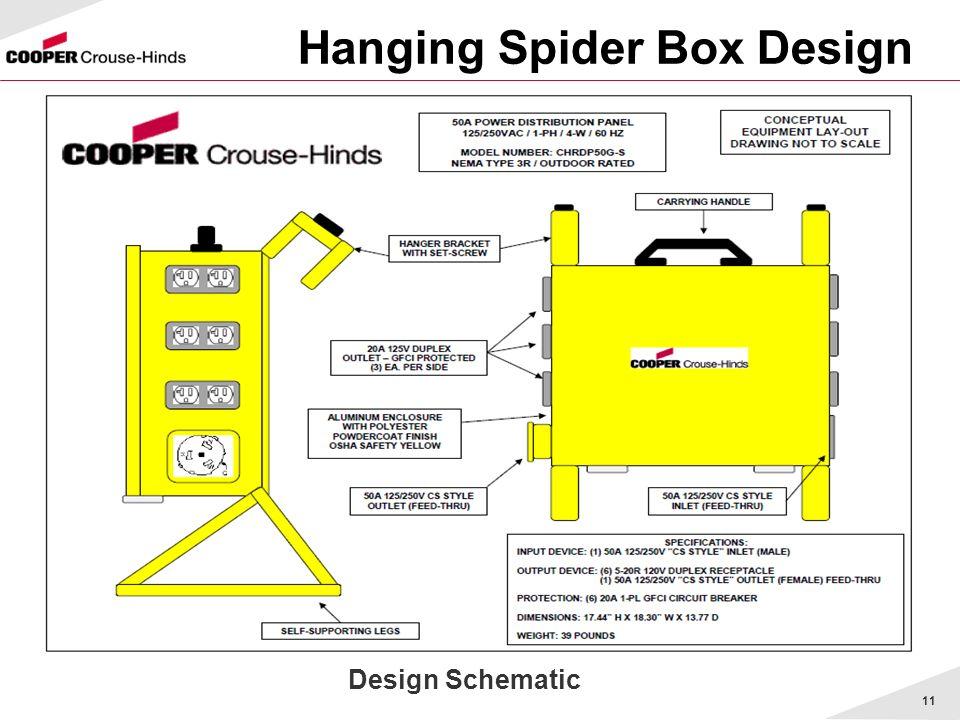 11 Hanging Spider Box Design Design Schematic