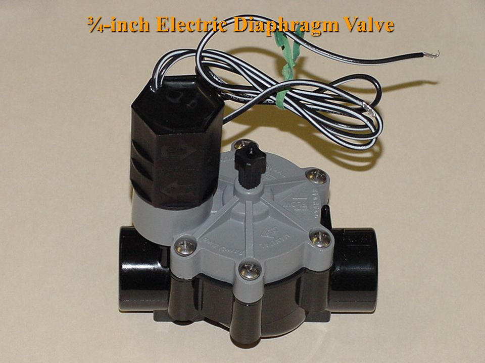 ¾-inch Electric Diaphragm Valve