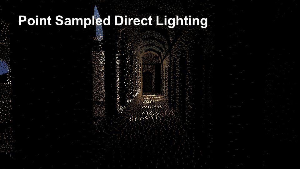 Point Sampled Direct Lighting