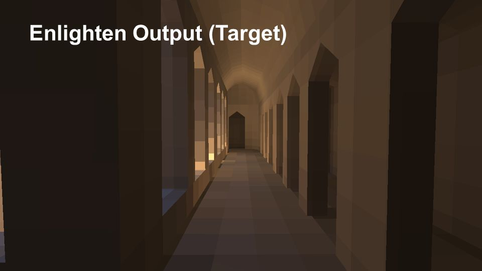 Enlighten Output (Target)