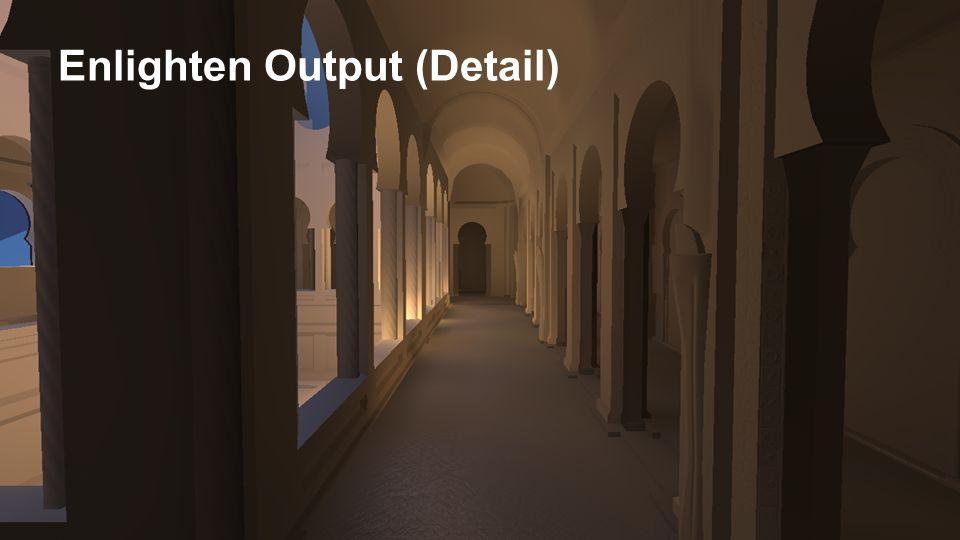 Enlighten Output (Detail)