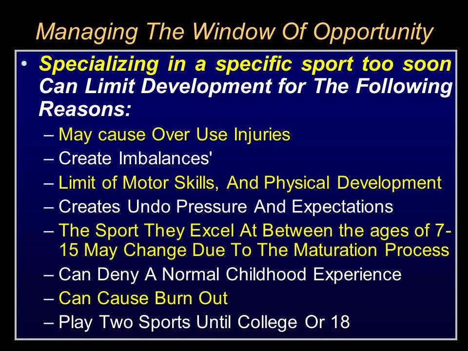 Training Methods For Ages 8-12 LegsCoreUpper Body 1.