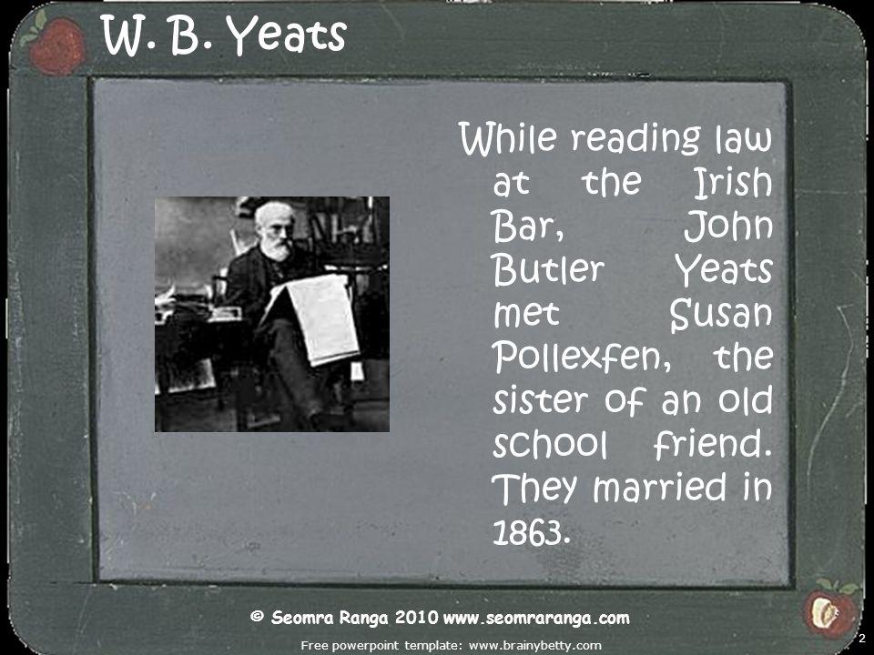 Free powerpoint template: www.brainybetty.com 13 W.