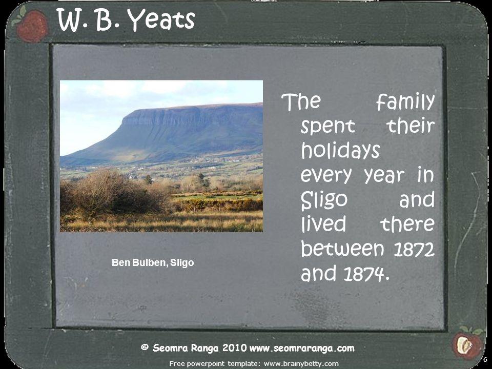 Free powerpoint template: www.brainybetty.com 27 W.