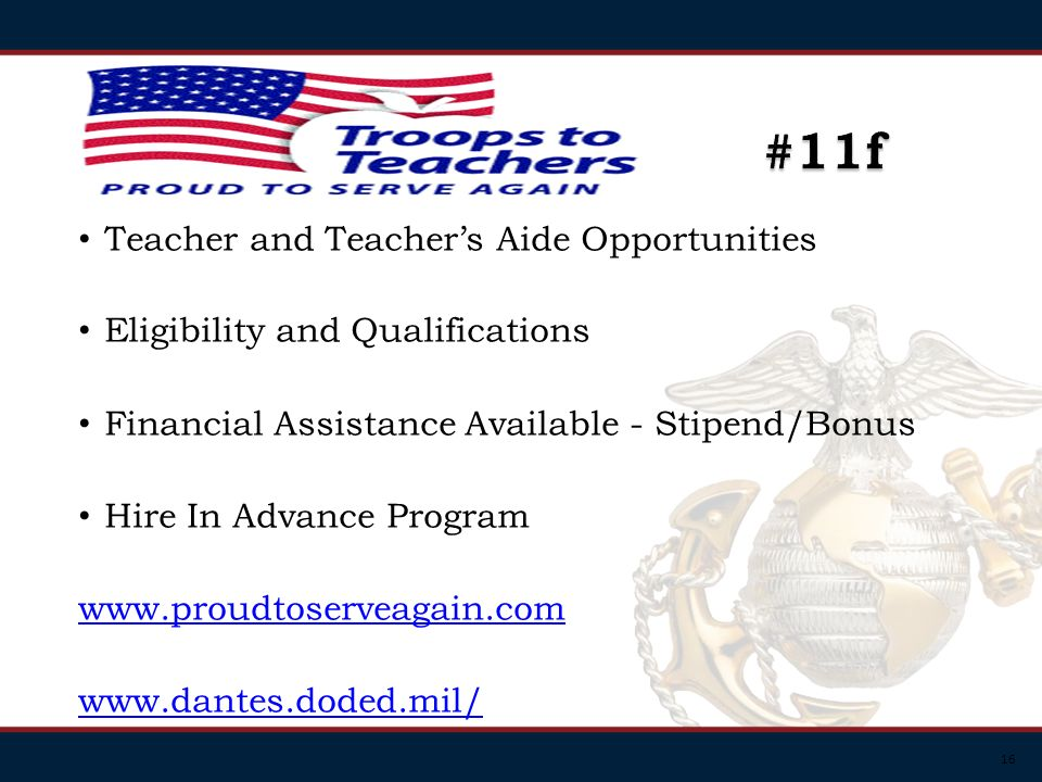 16 Teacher and Teachers Aide Opportunities Eligibility and Qualifications Financial Assistance Available - Stipend/Bonus Hire In Advance Program