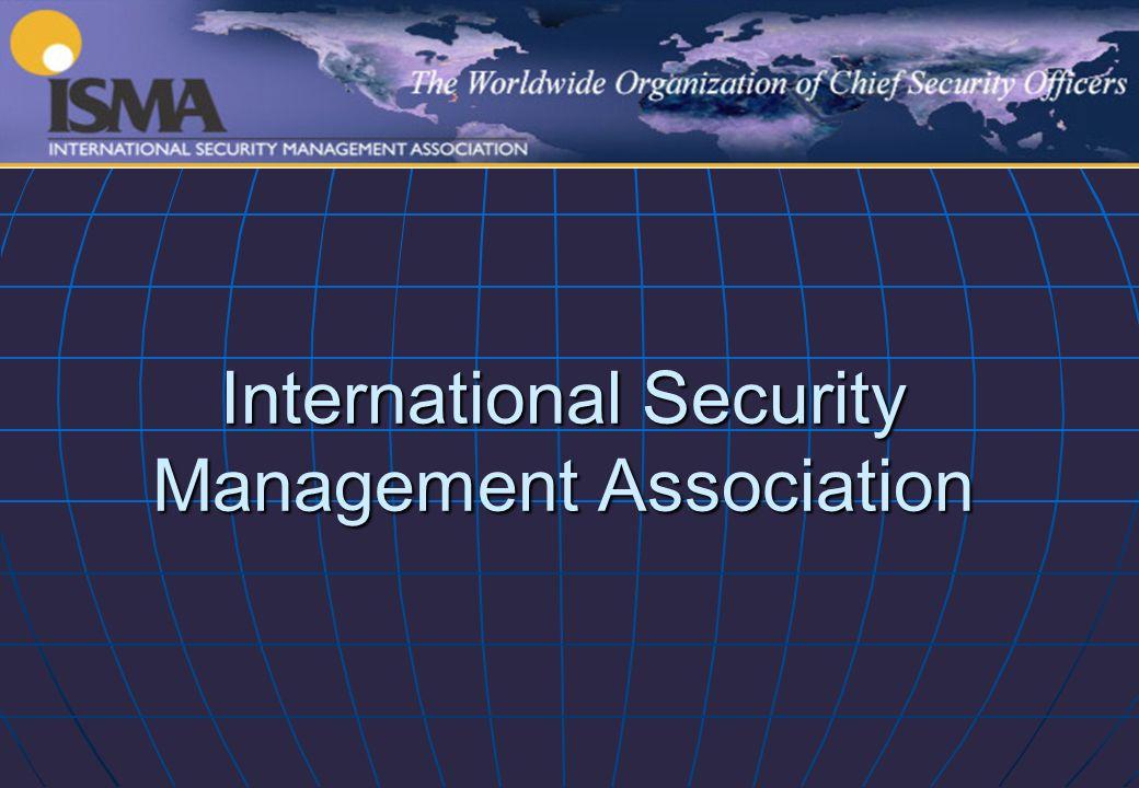 International Security Management Association