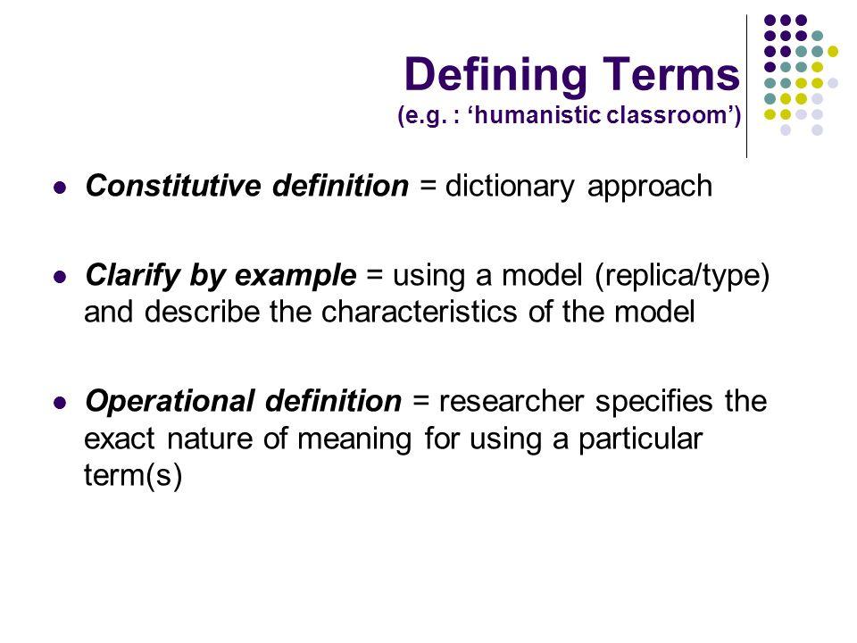 Dissertation Definitions
