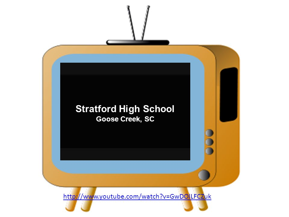 http://www.youtube.com/watch v=GwDOlLFCZuk Stratford High School Goose Creek, SC