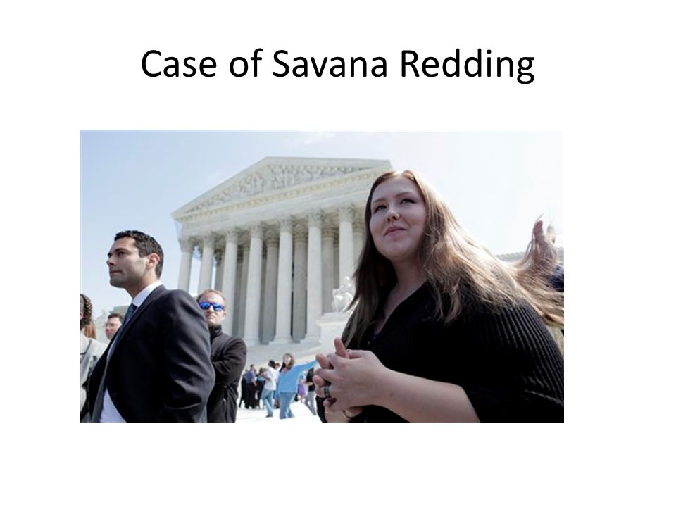 Case of Savana Redding