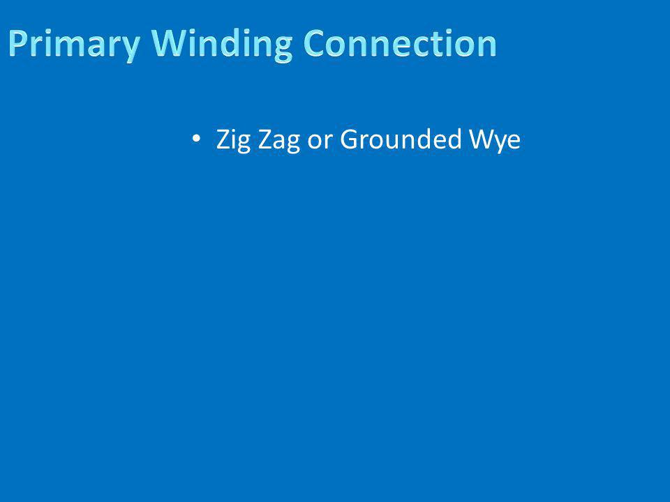 Zig Zag or Grounded Wye
