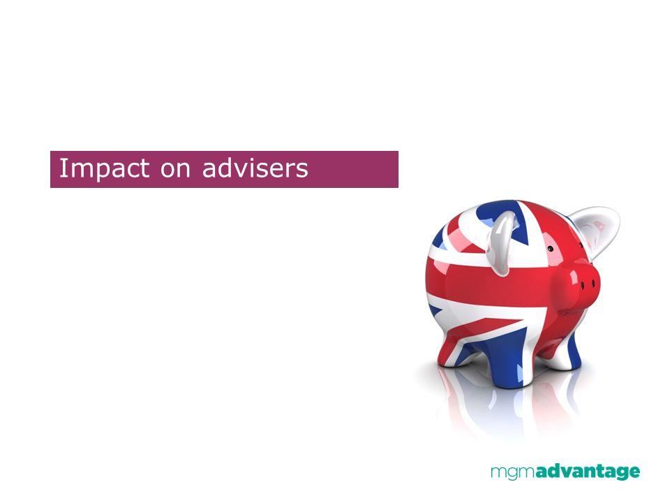 Impact on advisers