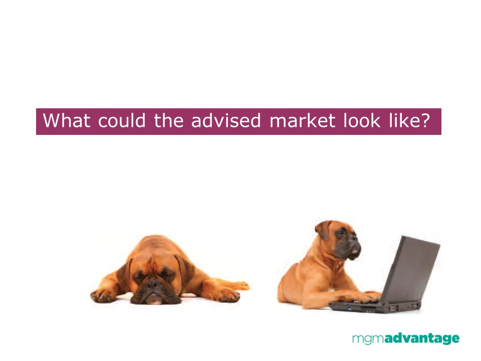 What could the advised market look like