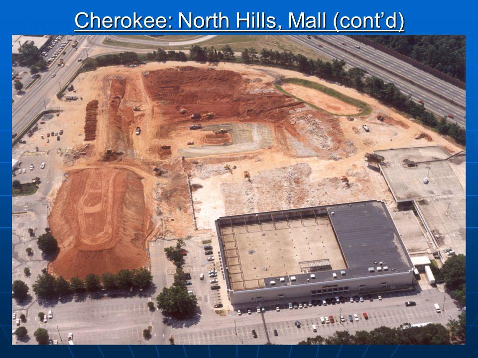 15 Cherokee: North Hills, Mall (Raleigh, NC)