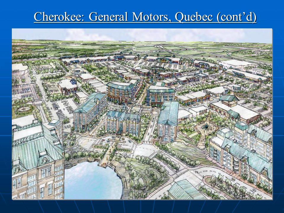 21 Cherokee: General Motors, Quebec (contd)