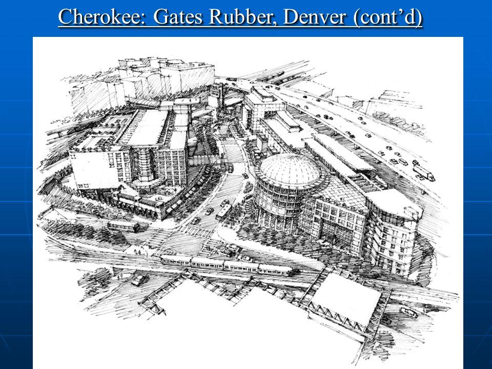 24 Contaminated Site Cherokee: Gates Rubber, Denver