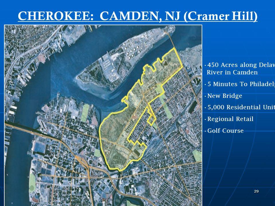 28 CHEROKEE: PENNSAUKEN & CAMDEN, NJ