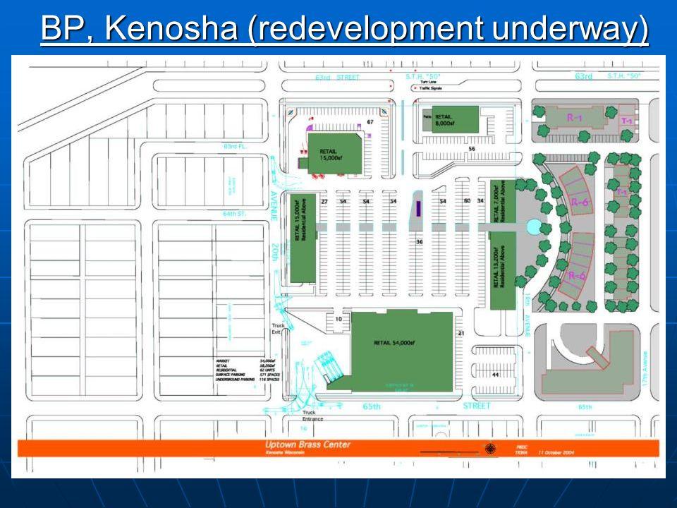 8 BP, Kenosha (post-demolition)