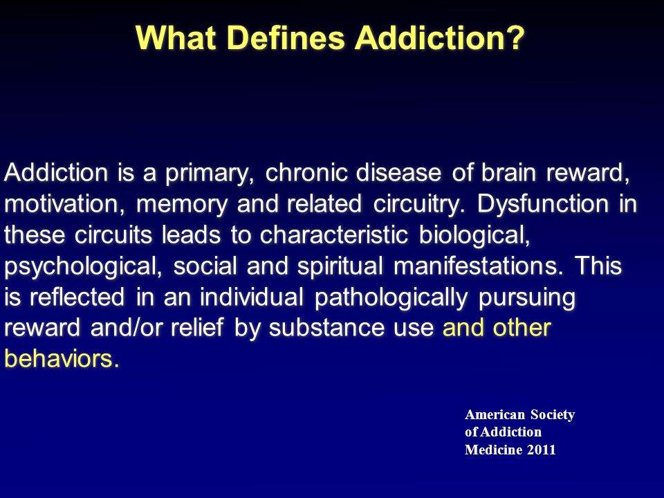 Addiction Treatment Method vs.
