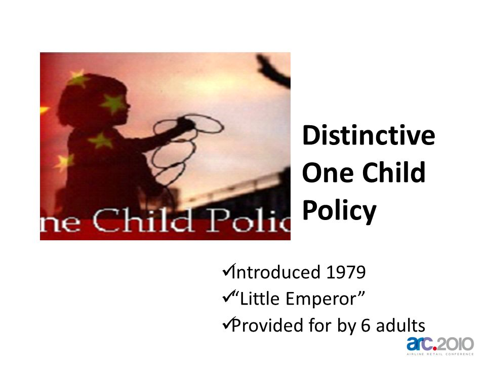 Distinctive One Child Policy Introduced 1979 Little Emperor Provided for by 6 adults