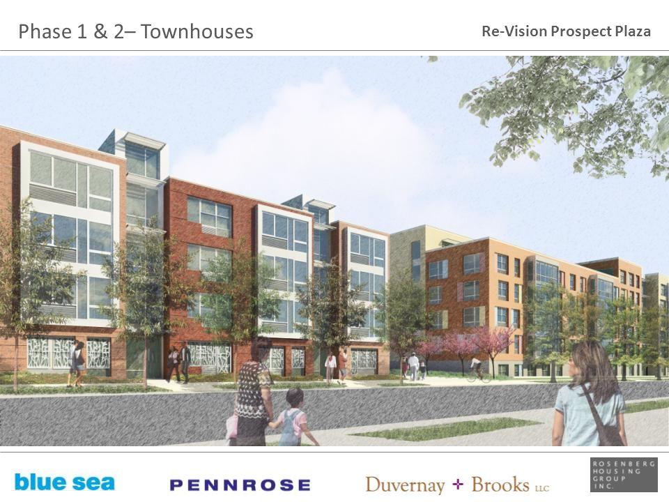 Re-Vision Prospect Plaza Phase 1 & 2– Townhouses