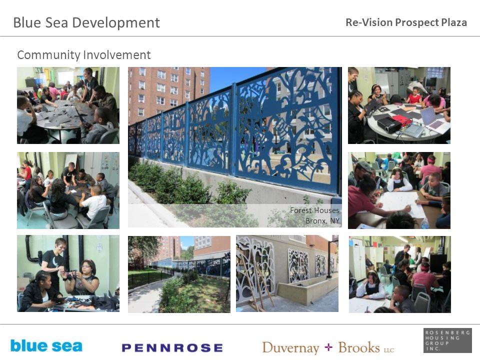 Re-Vision Prospect Plaza Community Involvement Forest Houses Bronx, NY Blue Sea Development