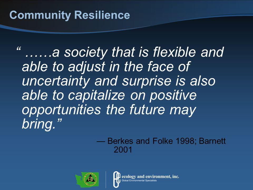 Elements of Resilience Longstaff, Patricia H.et al.