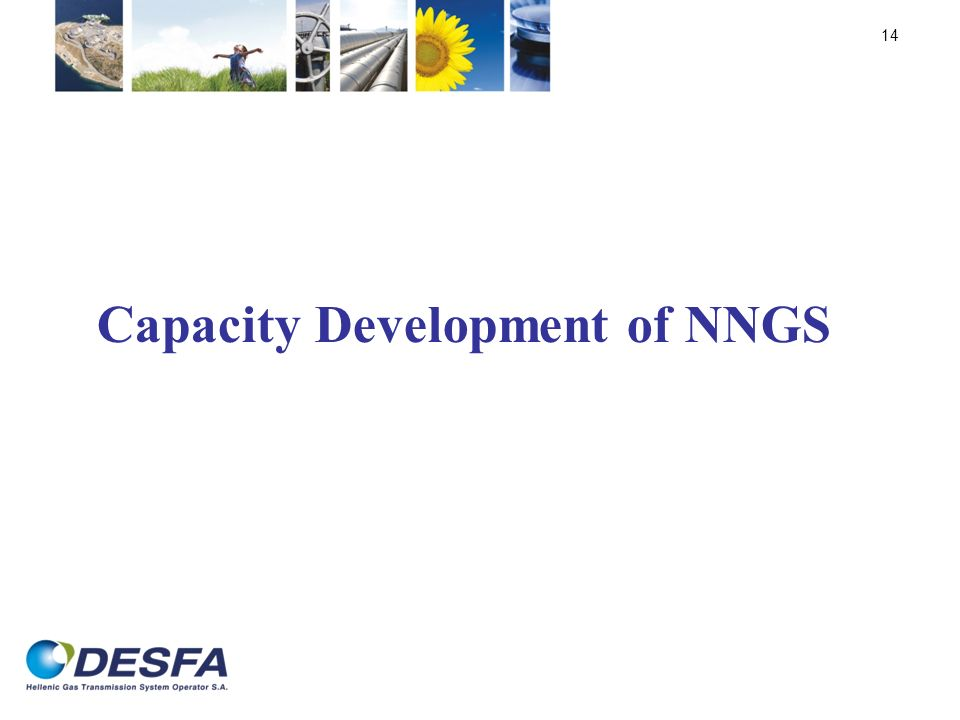 Capacity Development of NNGS 14