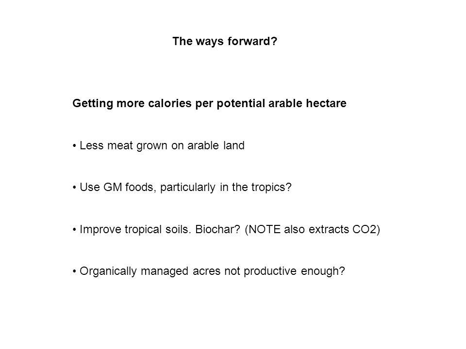 The ways forward.