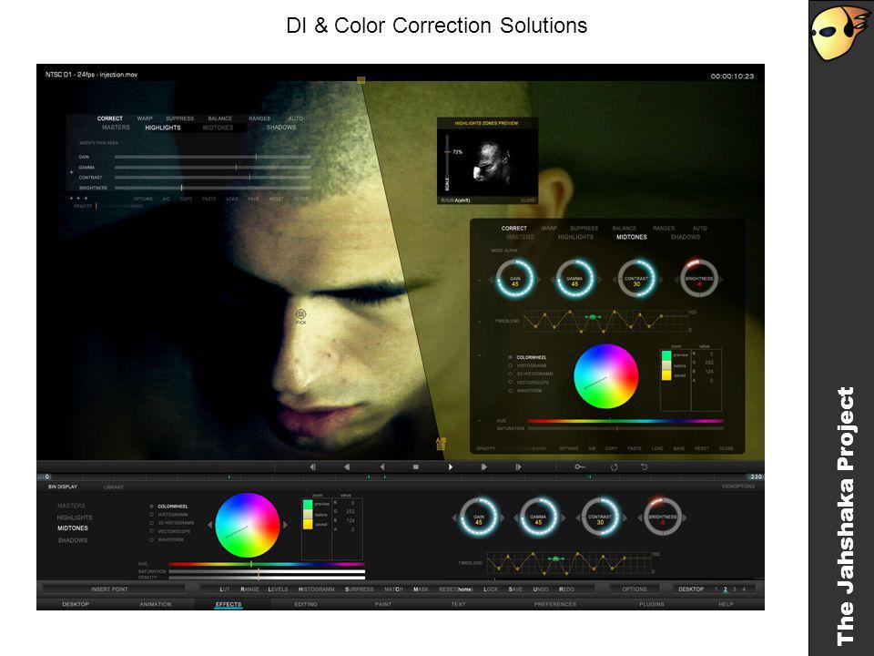 The Jahshaka Project DI & Color Correction Solutions