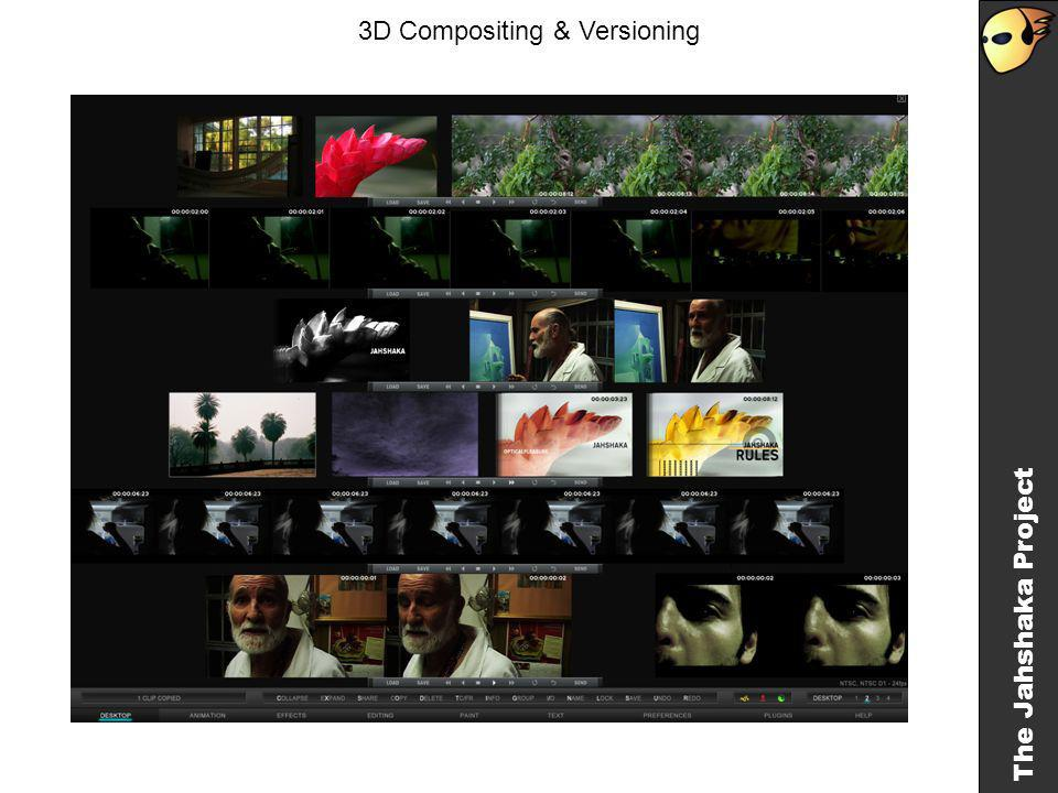 The Jahshaka Project 3D Compositing & Versioning