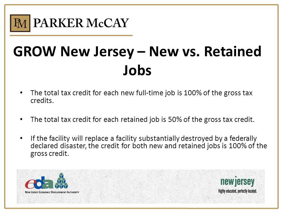 GROW New Jersey – New vs.