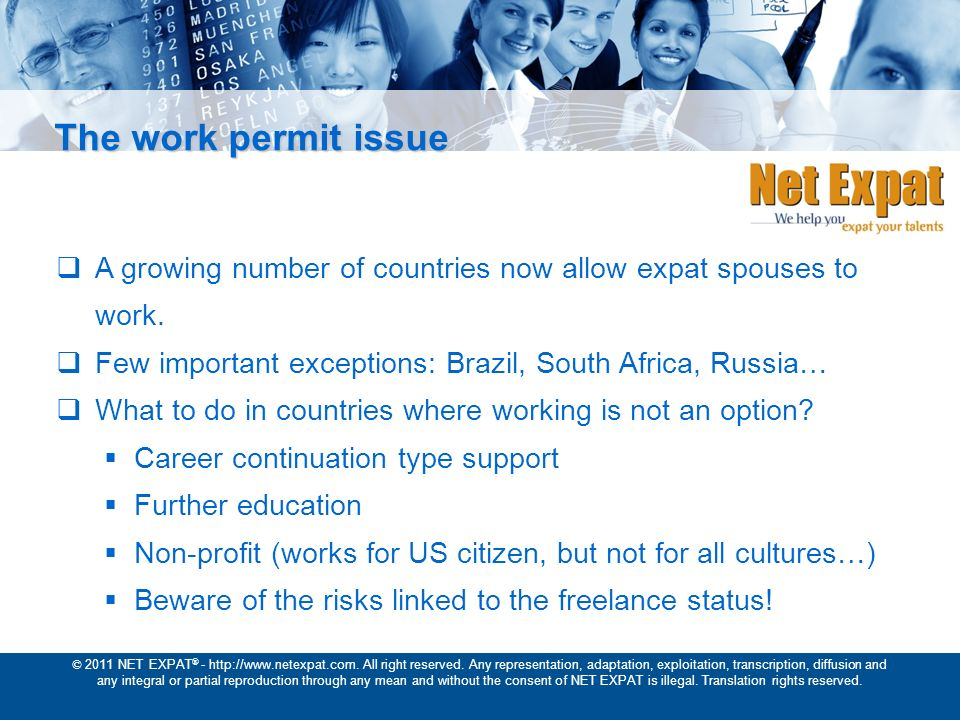 © 2011 NET EXPAT ® - http://www.netexpat.com. All right reserved.