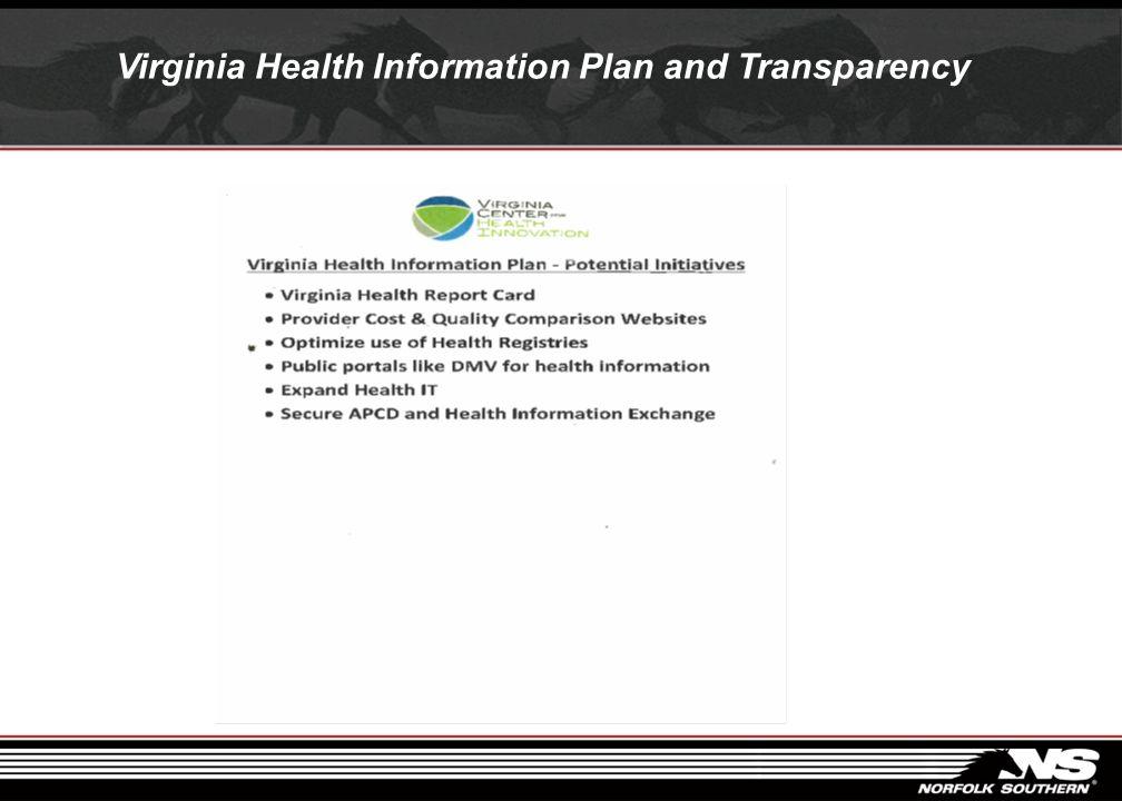 Virginia Health Information Circa 1993
