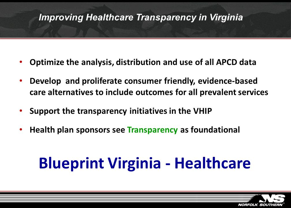 Transparency is required in a perfect world First, patients will be at the heart of everything we do. So they will have more choice and control, helpe