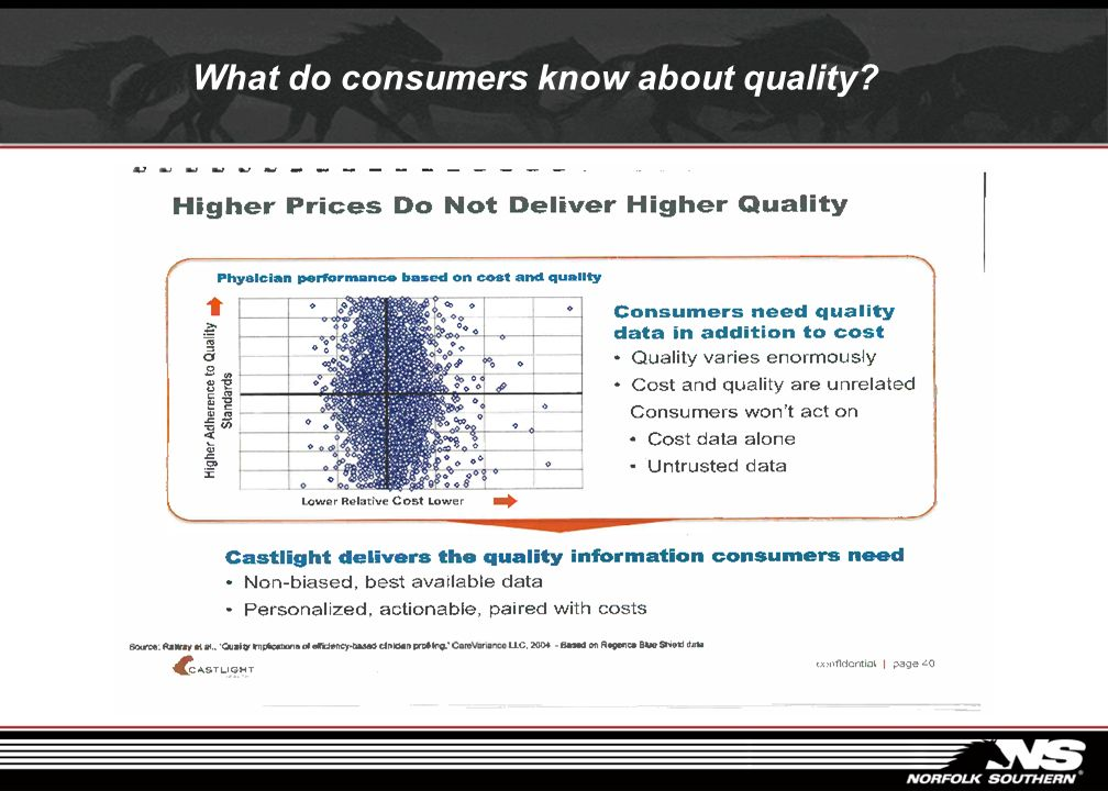 What do consumers know about quality?