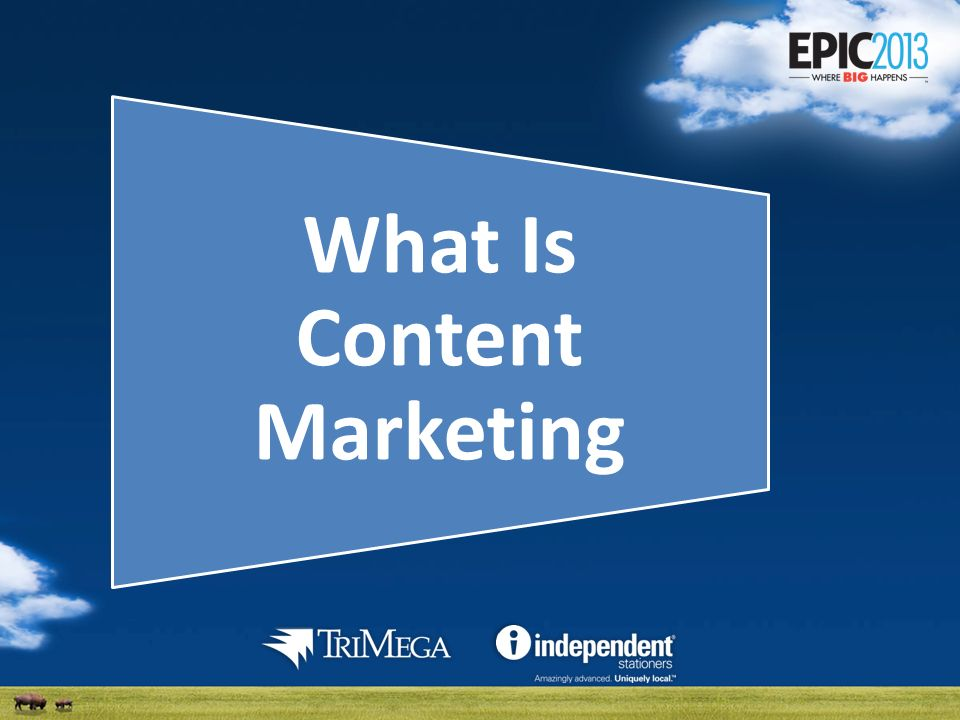 Content Marketing Content marketing is a marketing technique of creating and distributing relevant and valuable content to attract, acquire, and engage a clearly defined and understood target audience – with the objective of driving profitable customer action.