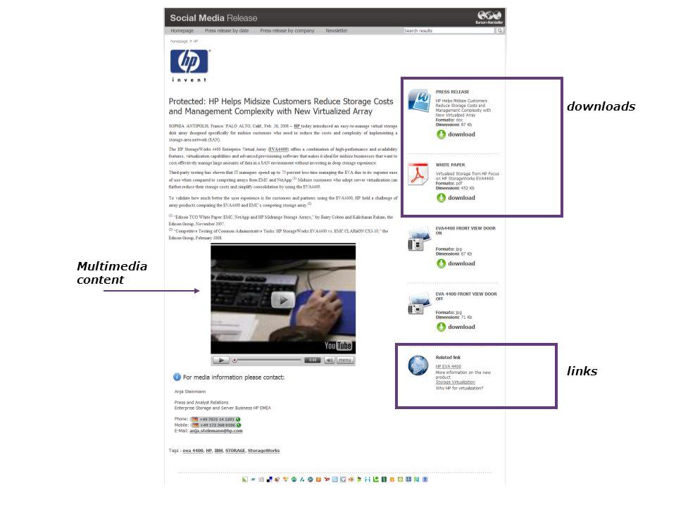7 downloads links Multimedia content