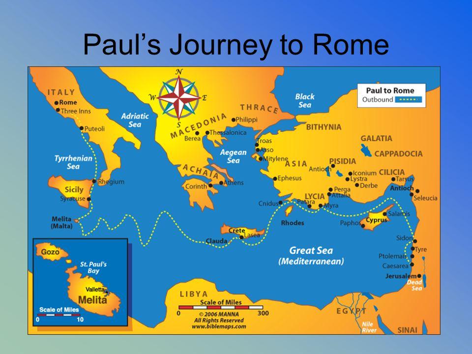 Pauls Journey to Rome