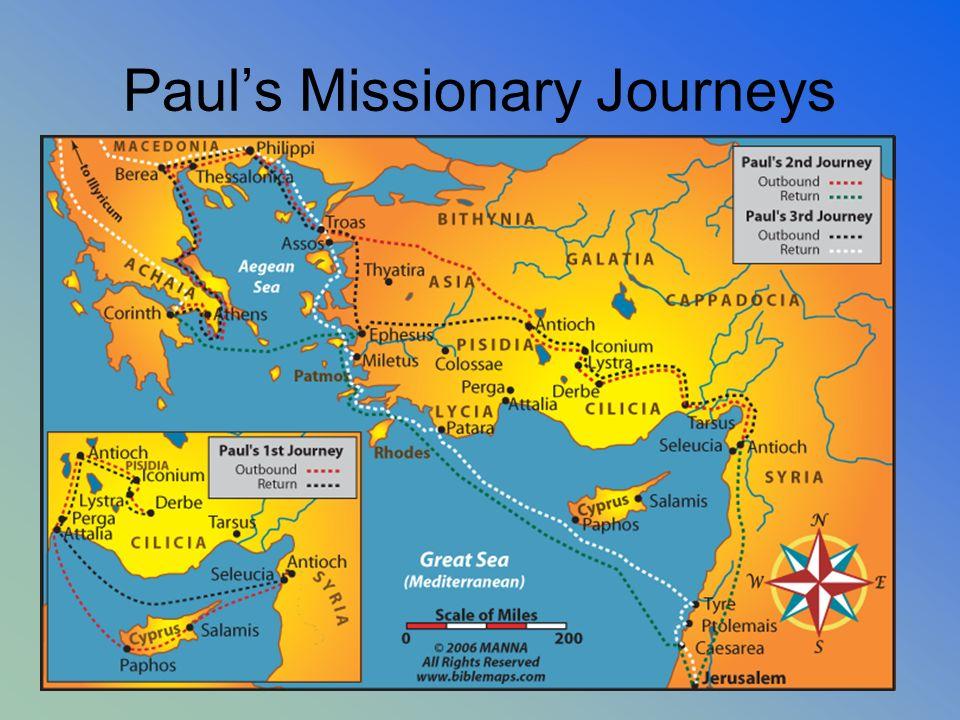 Pauls Missionary Journeys