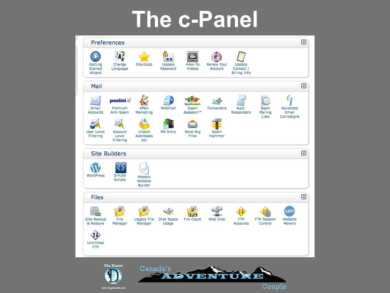 The c-Panel